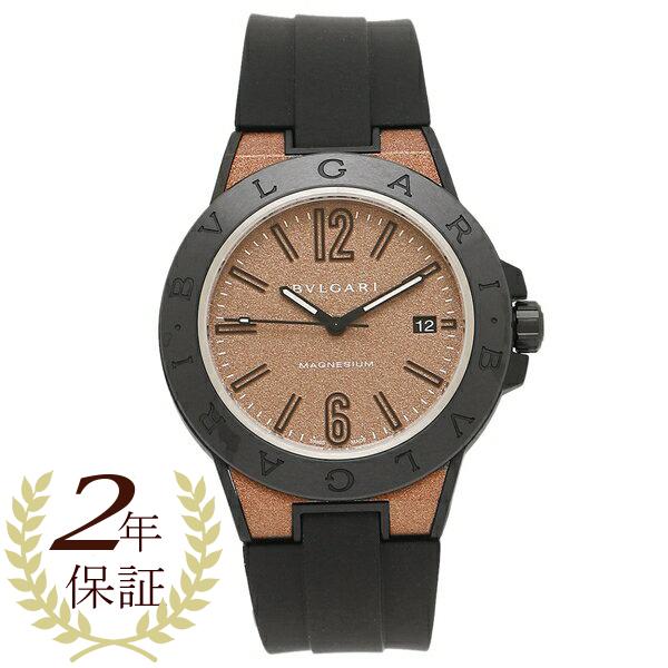 【6時間限定ポイント10倍】BVLGARI 腕時計 レディース ブルガリ DG41C11SMCVD ブラウン グレー ブラック