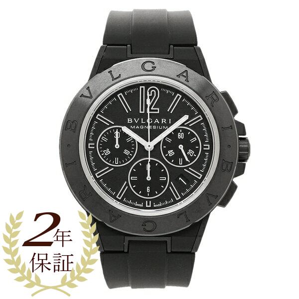 【4時間限定ポイント10倍】BVLGARI 腕時計 メンズ ブルガリ DG42BSMCVDCH ブラック