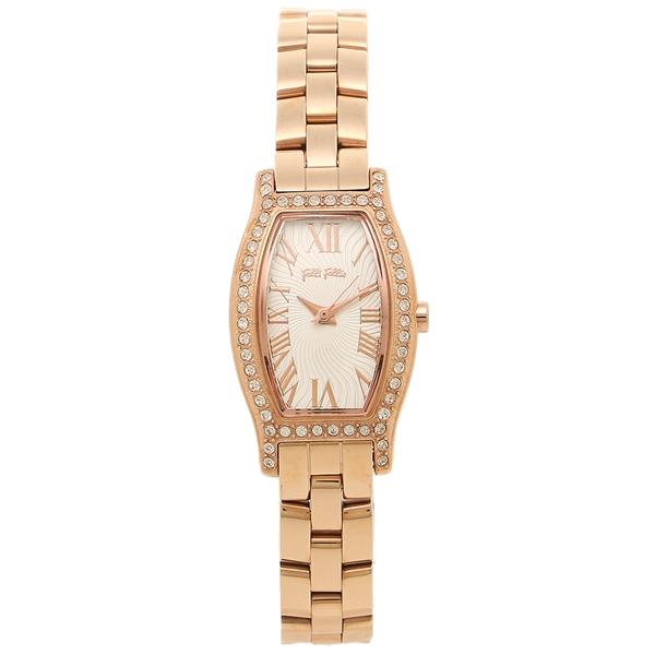 【期間限定ポイント5倍】【返品OK】フォリフォリ 腕時計 FOLLI FOLLIE レディースウォッチ WF8B026BPZ ピンクゴールド