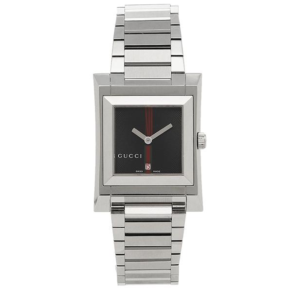 グッチ 時計 レディース GUCCI 腕時計 GUCCIO グッチオ ブラック/シルバー ウォッチ