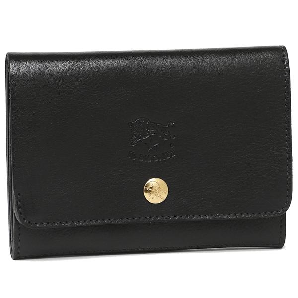 【4時間限定ポイント10倍】イルビゾンテ 折り財布 レディース IL BISONTE C0522 P 153 ブラック