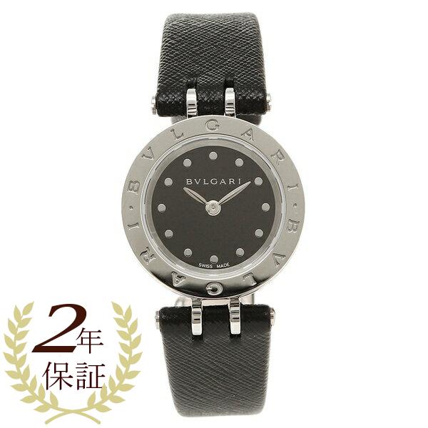 【期間限定ポイント5倍】【返品OK】BVLGARI 腕時計 レディース ブルガリ BZ23BSL ホワイト ブラック シルバー