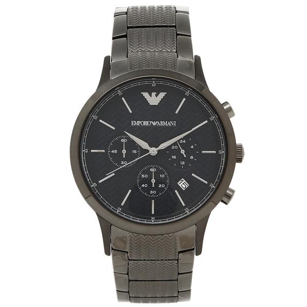 EMPORIO ARMANI メンズ 腕時計 エンポリオアルマーニ AR2505 ガンメタル ネイビー, アナンシ:43d1bce4 --- adfun.jp