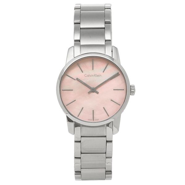 【2時間限定ポイント10倍】CALVIN KLEIN レディース 腕時計 カルバンクライン K2G2314E ピンク シルバー