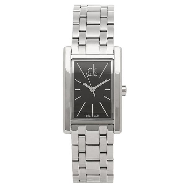 【2時間限定ポイント10倍】CALVIN KLEIN レディース 腕時計 カルバンクライン K4P23141 ブラック シルバー
