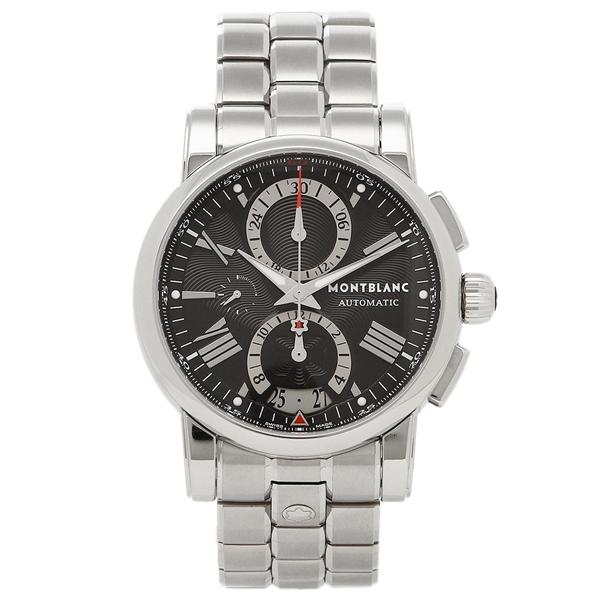 【2時間限定ポイント10倍】MONTBLANC メンズ 腕時計 モンブラン 102376 ブラック シルバー