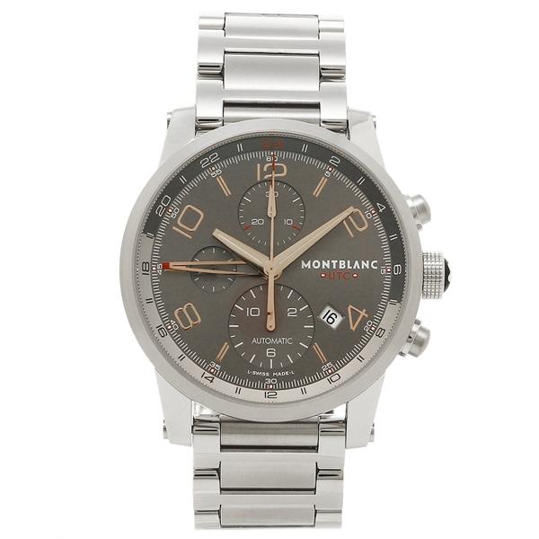 新作モデル 【24時間限定ポイント5倍】MONTBLANC メンズ 腕時計 腕時計 モンブラン モンブラン 107303 グレー 107303 シルバー, プレーリードッグ:8666938b --- breathoflove.se