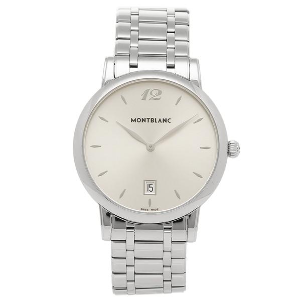 【返品OK】MONTBLANC メンズ 腕時計 モンブラン 108768 シルバー