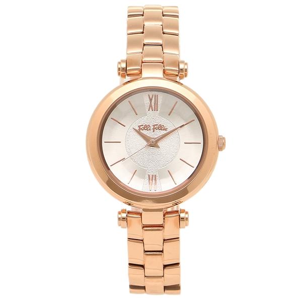 【24時間限定ポイント5倍】FOLLI FOLLIE レディース 腕時計 フォリフォリ WF16R009BPS ピンクゴールド