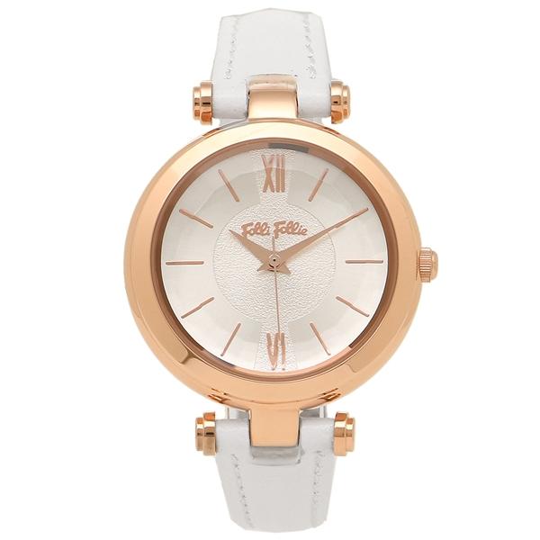FOLLI FOLLIE レディース 腕時計 フォリフォリ WF16R009SPS-WH ホワイト ローズゴールド