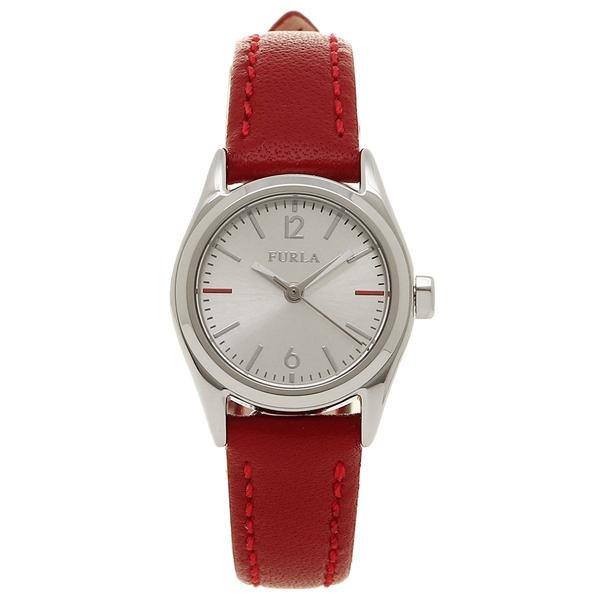 【4時間限定ポイント10倍】【返品OK】FURLA 腕時計 レディース フルラ 866616 r4251101507 シルバー レッド