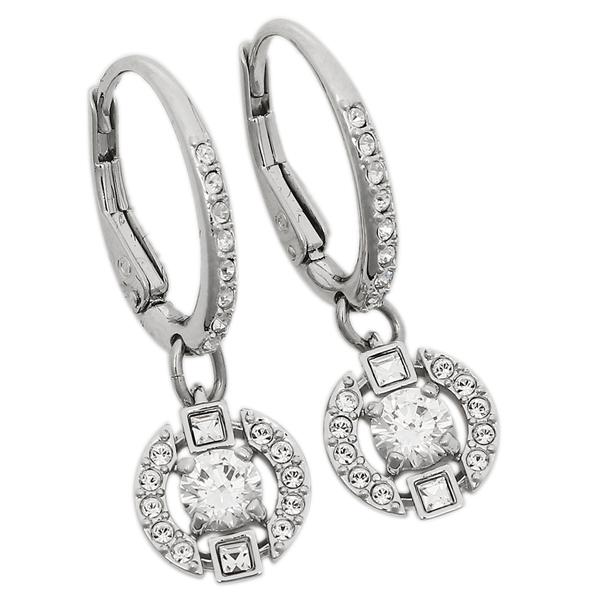 Swarovski Pierced Earrings Lady S 5272366 Silver
