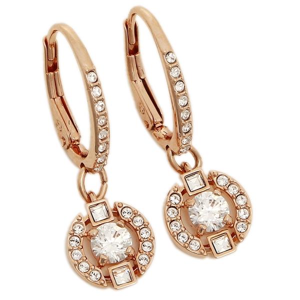 Swarovski Pierced Earrings Lady S 5272367 Rose Gold