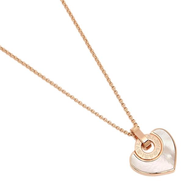 bulgari necklace bvlgari cl857217 pink gold pearl
