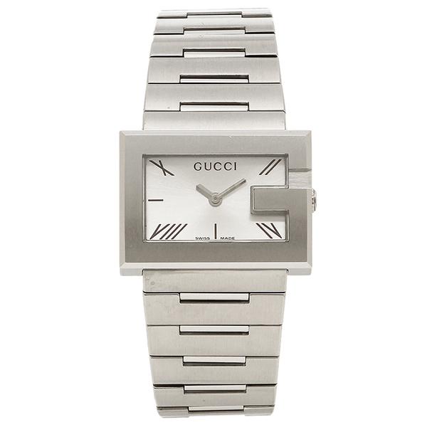 【4時間限定ポイント10倍】グッチ GUCCI 時計 レディース 腕時計 GUCCI グッチ Gレクタングル ホワイト/シルバーウォッチ/腕時計