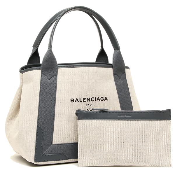 【4時間限定ポイント10倍】バレンシアガ レディース トートバッグ BALENCIAGA 339933 AQ38N 1381 ナチュラル グレー