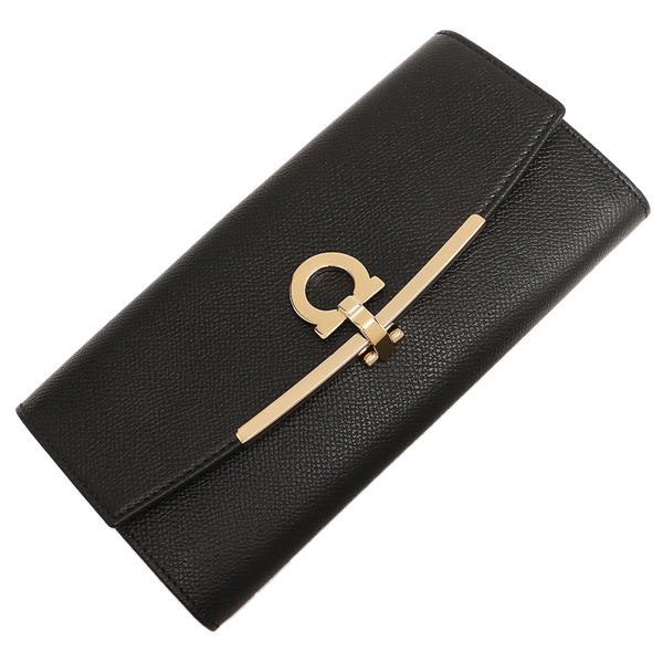 Ferragamo Lady's long wallet Salvatore Ferragamo 22C874 0673974 black