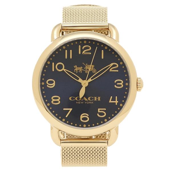 【72時間限定ポイント10倍】【返品OK】コーチ 腕時計 レディース COACH 14502665 イエローゴールド ブルー