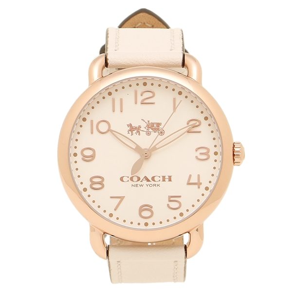 コーチ 腕時計 レディース COACH 14502716 ローズゴールド アイボリー