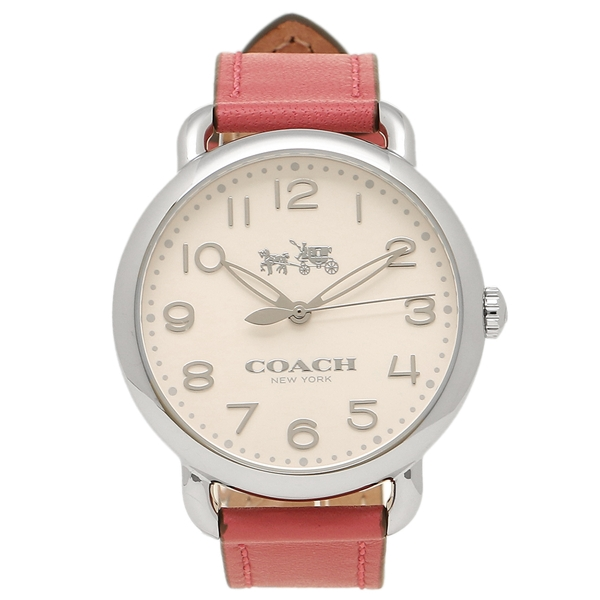 【4時間限定ポイント10倍】コーチ 腕時計 レディース COACH 14502717 ピンク シルバー ホワイト
