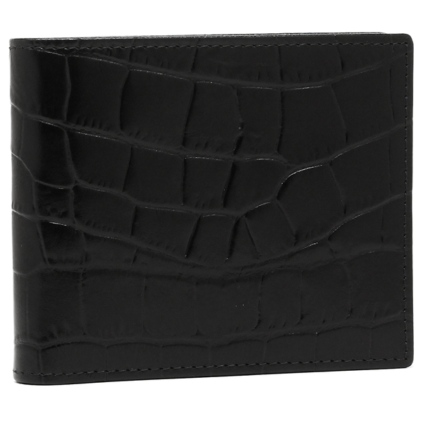エッティンガー メンズ 折財布 ETTINGER CC030J ブラック