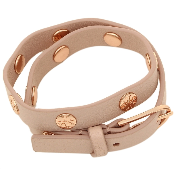 1a10ee6428b0d Tolly Birch Lady s bracelet accessories TORY BURCH 11165816 252 light oak  Rose gold