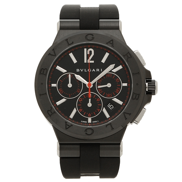 BVLGARI 腕時計 メンズ ブルガリ DG42BBSCVDCH/1 ブラック