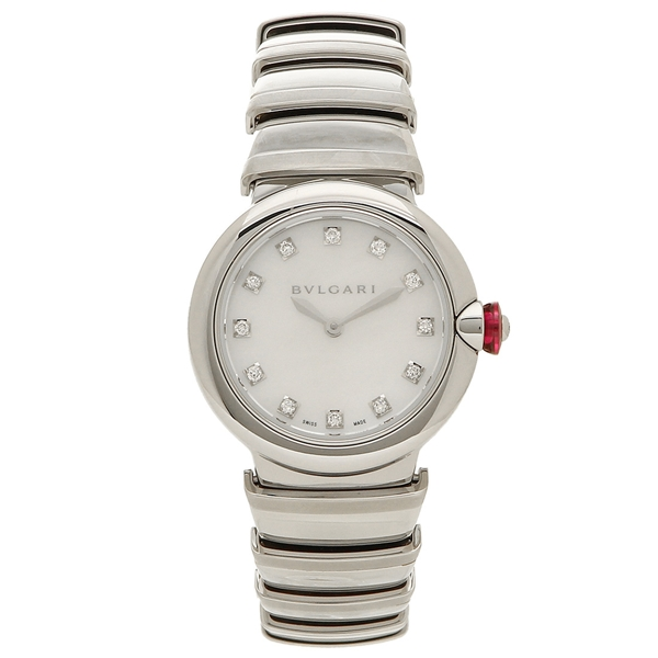 BVLGARI 腕時計 レディース ブルガリ LU28WSS/12 シルバー