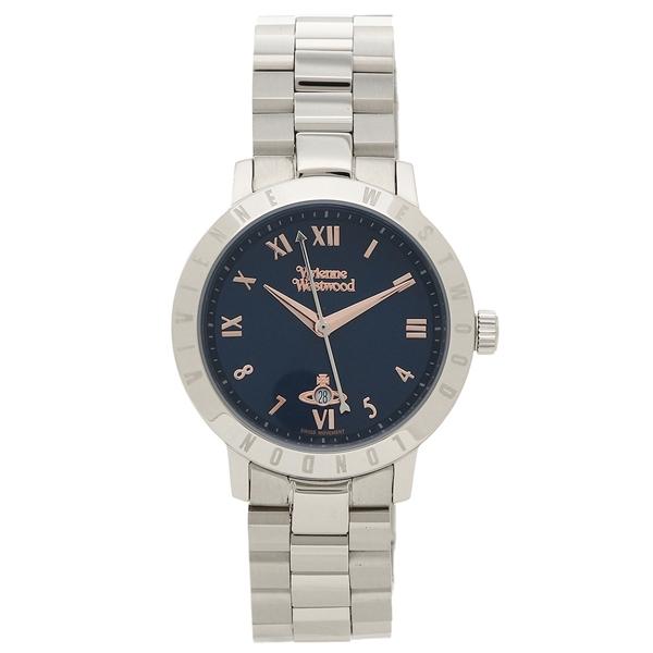 【返品OK】ヴィヴィアンウエストウッド 腕時計 レディース VIVIENNE WESTWOOD VV152NVSL ネイビーブルー シルバー