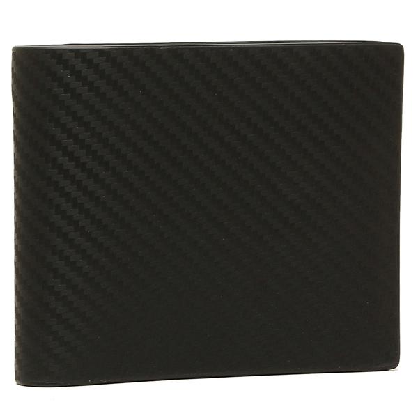 ダンヒル 折財布 メンズ DUNHILL L2A230A ブラック