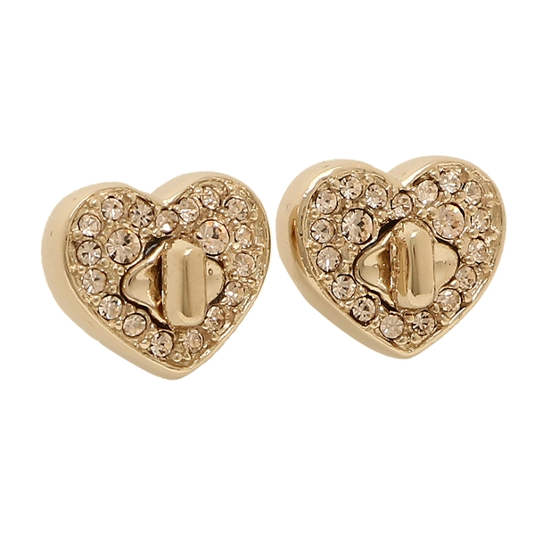 Coach Pierced Earrings Accessories Outlet Lady S F17448 Rgd Rose Gold