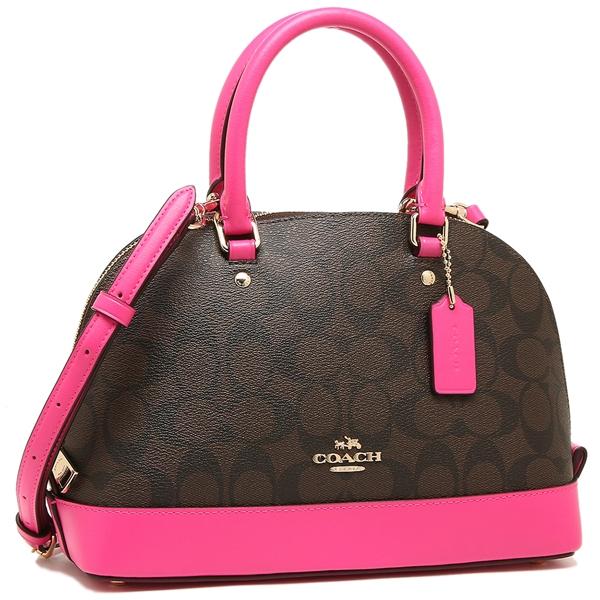 Coach Handbag Outlet Lady S F58295 Immjj Brown Blight Pink