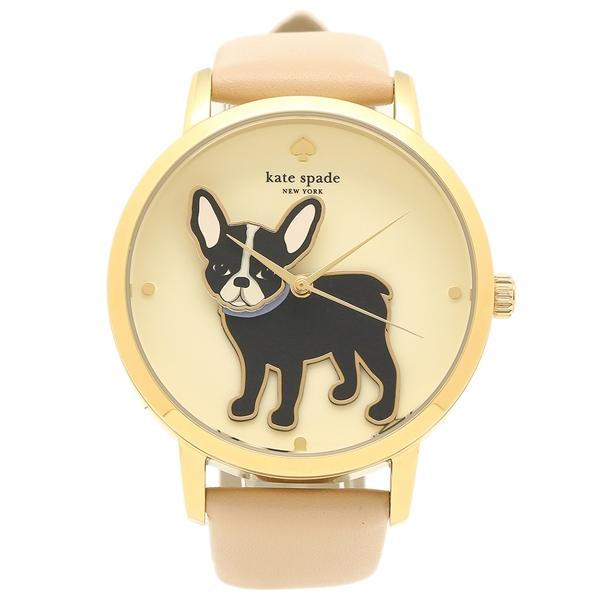 【4時間限定ポイント10倍】ケイトスペード 腕時計 レディース ピンク イエローゴールド KSW1345