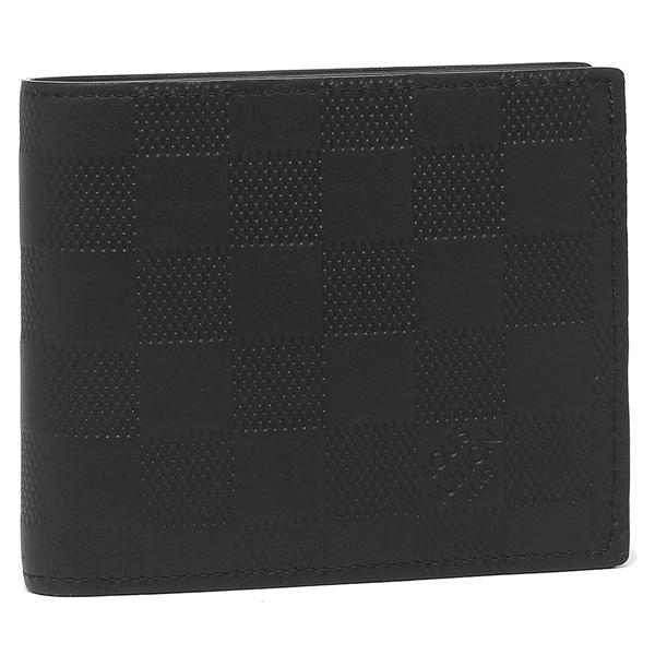 【24時間限定ポイント5倍】ルイヴィトン 折財布 メンズ LOUIS VUITTON N63334 ブラック