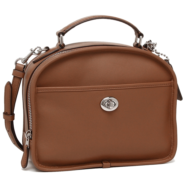 Coach Handbag Outlet Lady S F11785 Sv Sd Brown