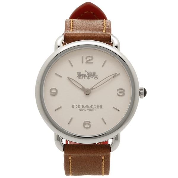 コーチ 腕時計 レディース COACH 14502793 ブラウン シルバー
