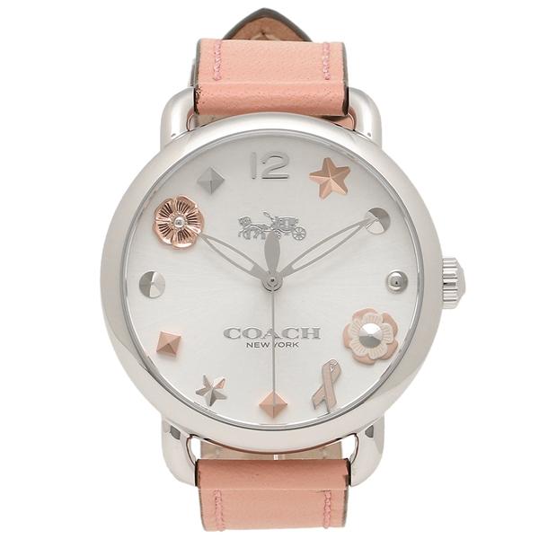 コーチ 腕時計 レディース COACH 14502799 ピンク シルバー