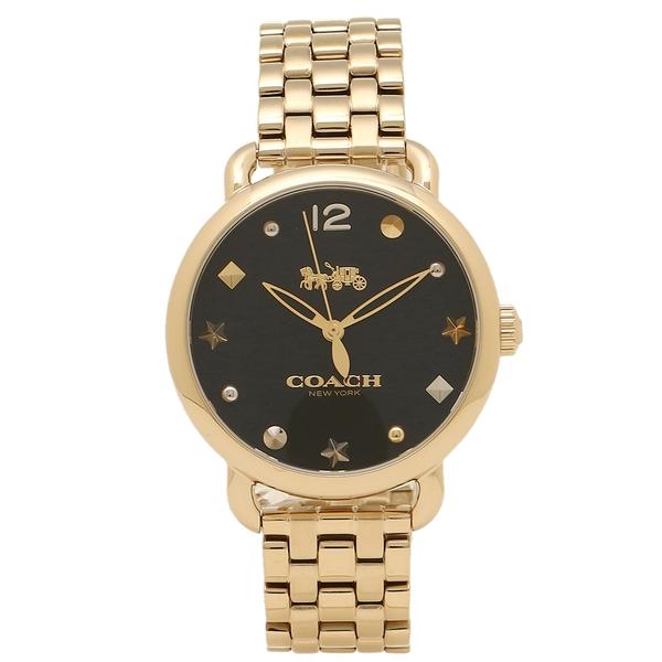 【24時間限定ポイント5倍】コーチ 腕時計 レディース COACH 14502813 イエローゴールド ブラック