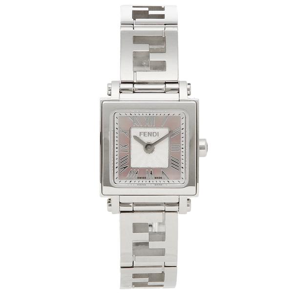 【24時間限定ポイント5倍】フェンディ 腕時計 レディース FENDI F605027500 ピンクパール シルバー
