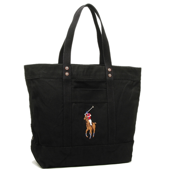Ralph Lauren Tote Bag Men Gap Dis Polo 405647845 002 Black