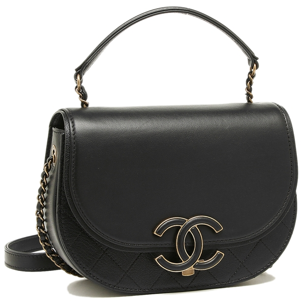 Chanel Shoulder Bag Lady S A93460 Y82232 94305 Black Gold