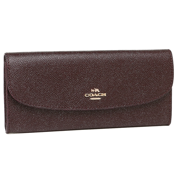 Coach Long Wallet Outlet Lady S F11835 Iml7c Red