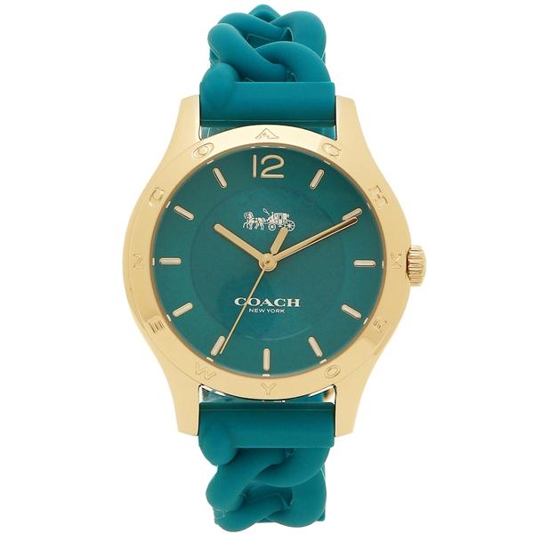 コーチ 腕時計 レディース COACH アウトレット W6043 レディース TEA COACH TEA グリーン イエローゴールド, 敏感肌ITEM等は アトリエ箱:f2c6604d --- sunward.msk.ru