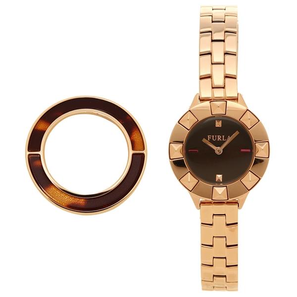 【返品OK】フルラ 腕時計 レディース FURLA R4253109507 ブラウン ローズゴールド