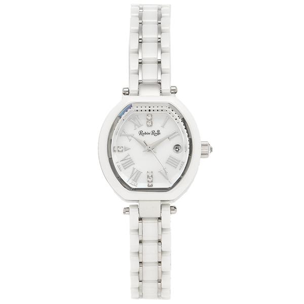 【6時間限定ポイント10倍】【返品OK】ルビンローザ 腕時計 レディース Rubin Rosa R308SWH シルバー ホワイト