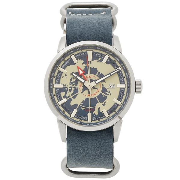 【2時間限定ポイント10倍】ハンティングワールド 腕時計 メンズ HUNTING WORLD HW027BL ネイビーブルー シルバー