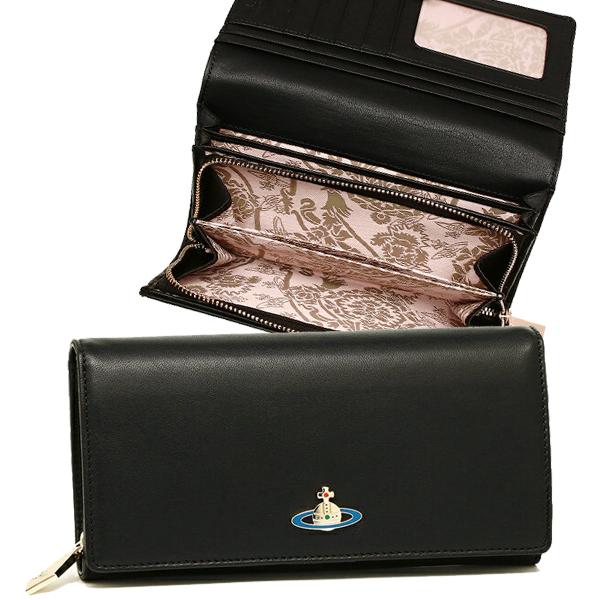 ヴィヴィアンウエストウッド 長財布 レディース VIVIENNE WESTWOOD 51060001 40151 ブラック