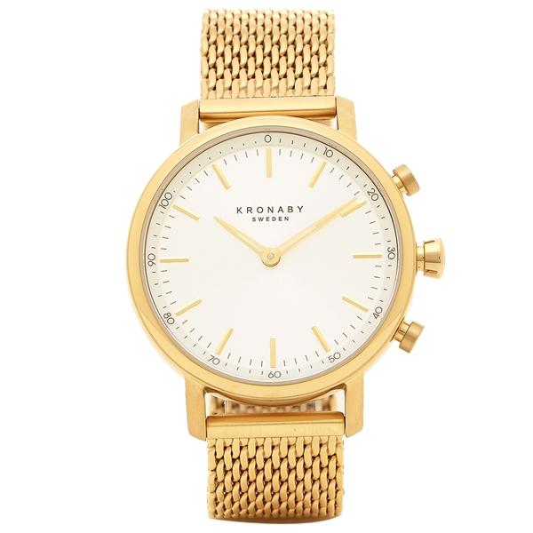 【返品OK】クロナビー 腕時計 KRONABY A1000-1916 シルバー ゴールド