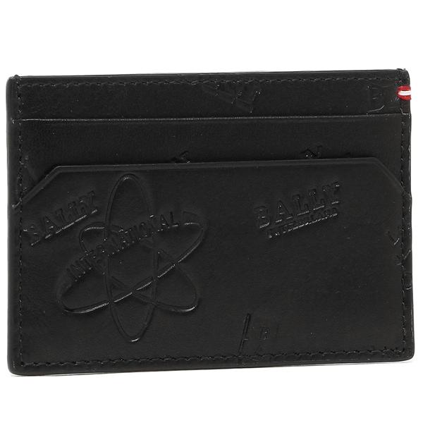 バリー カードケース メンズ BALLY 6216535 ブラック
