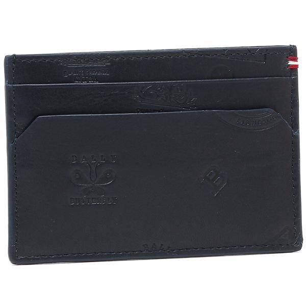 バリー カードケース メンズ BALLY 6216536 ネイビー